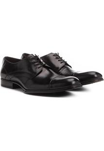 Sapato Social Couro Shoestock Revere - Masculino-Preto