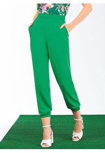 Calça Verde Folha