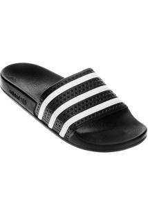 Chinelo Adidas Adilette - Masculino-Preto+Branco