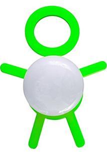 Abajur Cromalux Stickman Verde