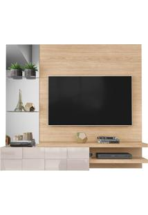 "Home Suspenso Tv Até 55"" Turim Duna/Off White"