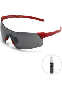 Óculos De Sol Hb Quad V Performance Preto/Vermelho