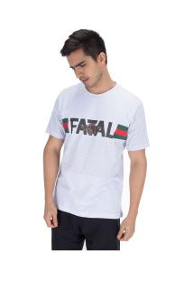 Camiseta Fatal Estampada 22160 - Masculina - Branco