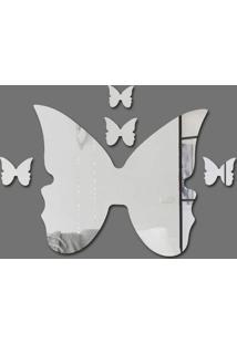 Espelho Decorativo Borboleta