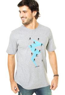 Camiseta West Coast Esqui Cinza
