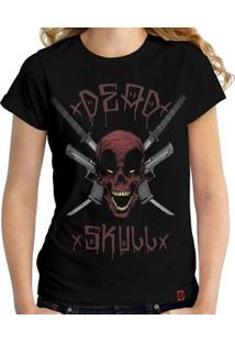 Camiseta Deadskull - Feminina