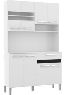 Cozinha Compacta Decibal, 8 Portas, 1 Gaveta - Ac810