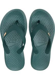 Sandália Nike Solay Thong Masculina - Masculino-Chumbo