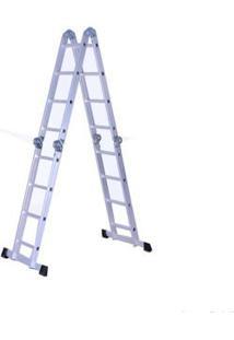 Escada De Alumínio Articulada 4X4 Prosteel