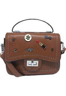 Mini Bolsa Sys Fashion Casual Importada 8301 Marrom