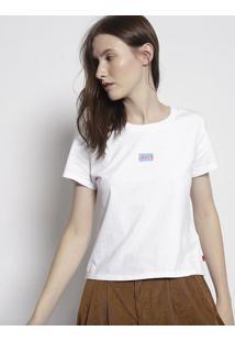 "Camiseta ""Game Over"" - Branca & Azullevis"