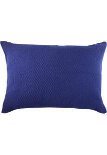Porta Travesseiro Lola Home Grace 02 Marinho - Azul Marinho - Dafiti