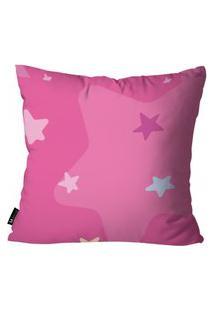 Capa Para Almofada De Unicórnio 45X45Cm Pink