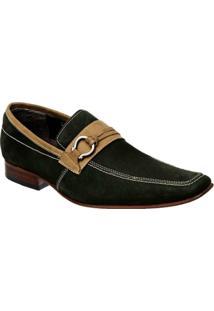Sapato Esporte Fino Nobuck Aveludado Bigioni - Masculino