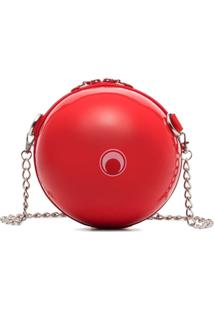 Marine Serre Bolsa Tiracolo Dream Ball - Vermelho