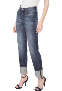 Calça Jeans Carmim Reta Empire State Azul