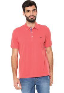 Camisa Polo Sergio K Reta Vista Coral