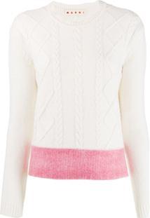 Marni Suéter De Tricô - Branco