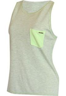 ... Camiseta Regata Double Billabong Feminina - Feminino 51c3bc6cba4c2