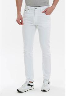 Calça Color Five Pockets Slim - Branco 2 - 36