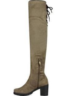 Bota Barth Shoes Dora Feminina - Feminino-Bege