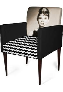 Cadeira Decorativa Mademoiselle Plus Imp Digital (2 Peças) Imp Digital 112 Frida - Kanui