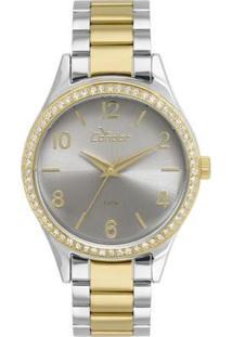 Relógio Feminino Condor Co2035Kuz/5C Pulseira /Dourada - Feminino-Prata