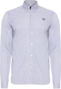 Camisa Masculina Stripe - Branco