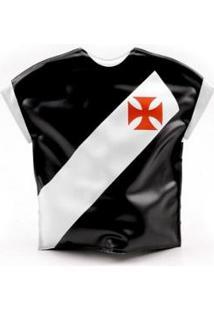 Bolsa Térmica Em Forma De Camisa - Vasco - Unissex-Branco+Preto