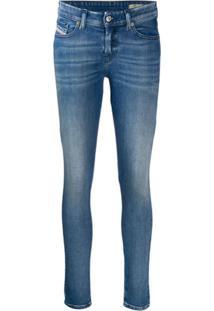 Diesel Calça Jeans Slim - Azul
