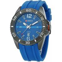 99395bcaf7a Relógio Curren Analógico - Masculino-Azul