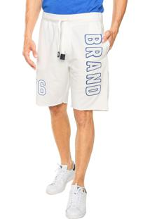 Bermuda Broken Rules Moletom Brand Branca