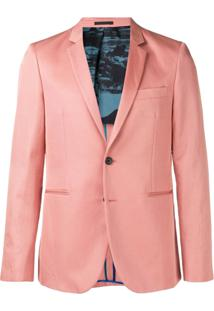 Ps Paul Smith Classic Blazer - Rosa