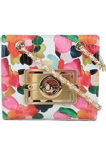 Bolsa Jorge Bischoff Mini Bag Brushed Flower Feminina - Feminino-Floral