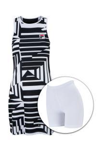Vestido Fila Rld Pro - Adulto - Preto/Branco
