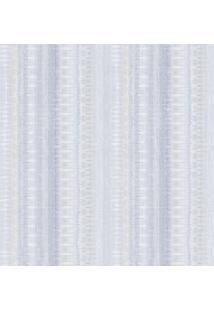 Papel De Parede Texturizado- Azul & Branco- 1000X52Cshark Metais