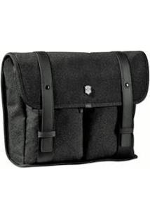 Bolsa Carteiro Victorinox Para Mini Laptop - Unissex-Preto