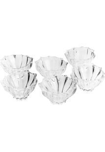 Conjunto Para Sobremesa Wolff Paradise 6 Bowls 12X7Cm Cristal