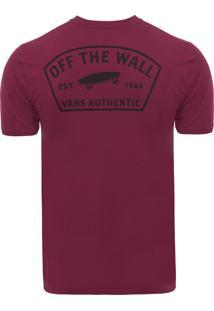 Camiseta Masculina Workwear - Vinho