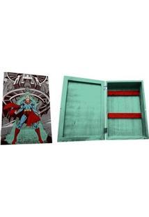 Porta Chaves Armário Super Homem Dc Comics