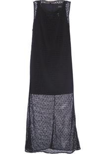 Vestido Renda - Preto