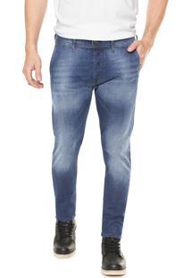 Calça Jeans Diesel Slim Kakee Azul