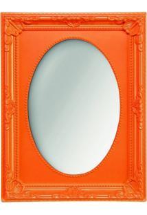 Espelho Laranja 10X15Cm Lino 4485 Mart