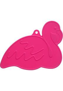 Pegador De Panelas Flamingo- Pink- 1X21,5X10Cmquadrifoglio