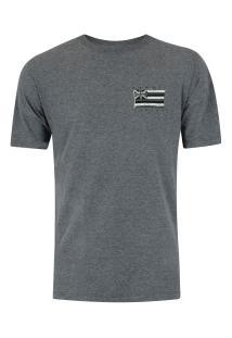 Camiseta Hurley Silk Hawaii Pride - Masculina - Cinza