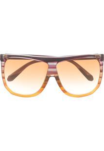 Loewe Óculos De Sol Filipa Em Acetato - Roxo