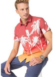 Camisa Reserva Regular Seis Horas - Masculino-Laranja