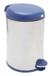 Lixeira Brinox Com Pedal Decorline 3048/263 Em Inox E Polipropileno - 12 L