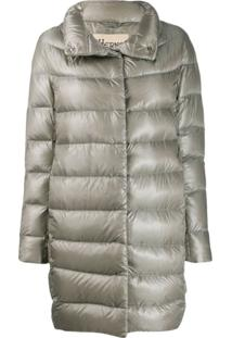 Herno Glossy Puffer Jacket - Cinza