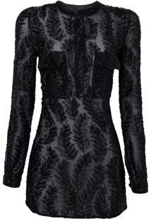 Camisao Feather (Black, Gg)